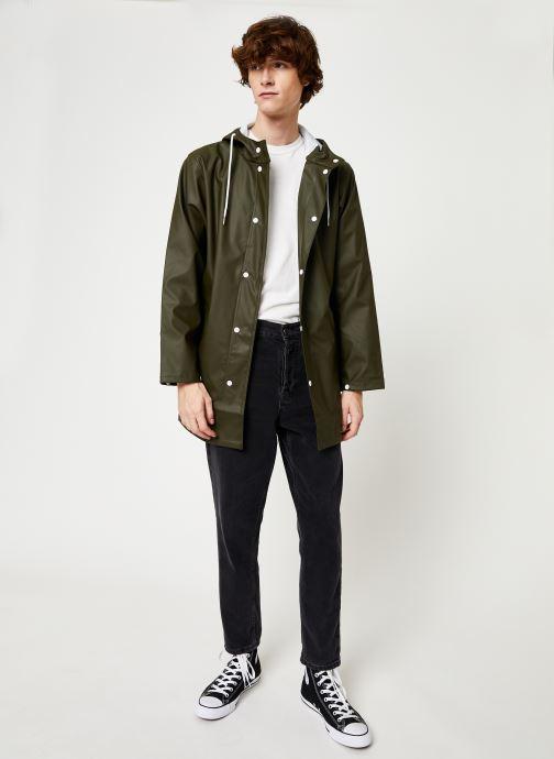 Vêtements Tretorn Wings Rainjacket M C Vert vue bas / vue portée sac