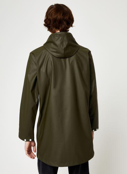 Vêtements Tretorn Wings Rainjacket M C Vert vue portées chaussures