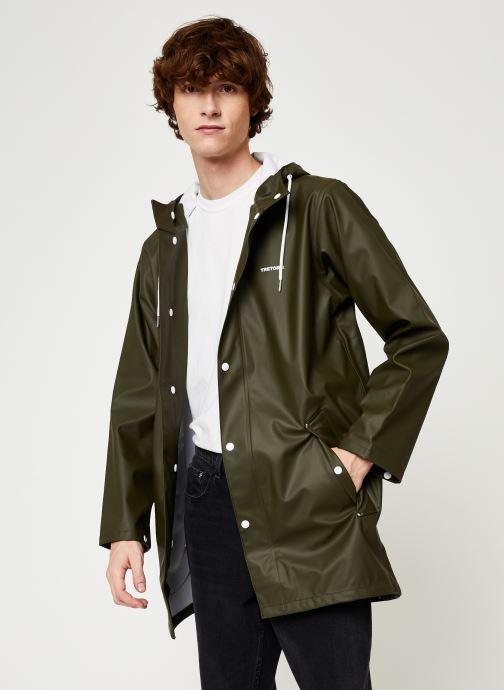 Vêtements Tretorn Wings Rainjacket M C Vert vue droite