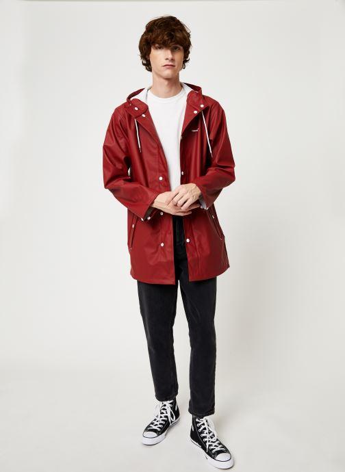 Vêtements Tretorn Wings Rainjacket M C Rouge vue bas / vue portée sac