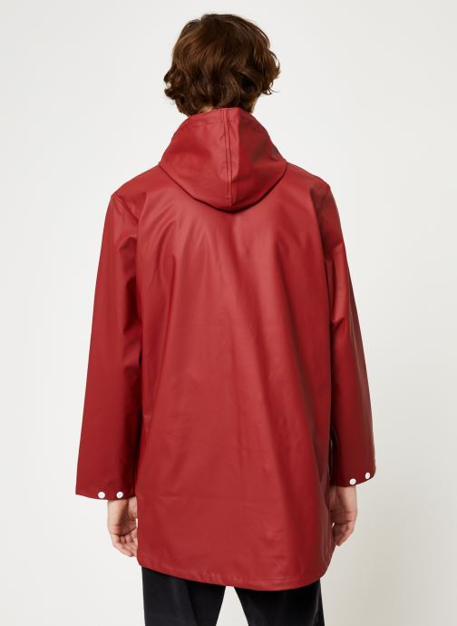 Kleding Tretorn Wings Rainjacket M C Rood model