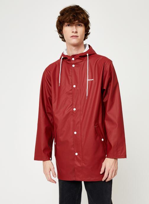 Vêtements Tretorn Wings Rainjacket M C Rouge vue droite