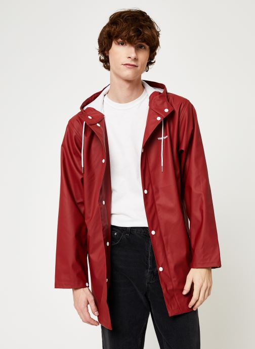 Kleding Tretorn Wings Rainjacket M C Rood detail