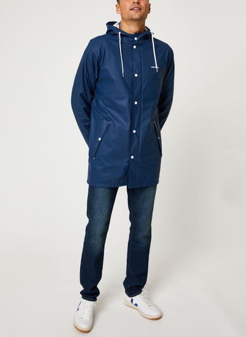 Vêtements Tretorn Wings Rainjacket M C Bleu vue bas / vue portée sac
