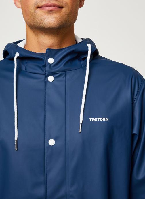 Vêtements Tretorn Wings Rainjacket M C Bleu vue face
