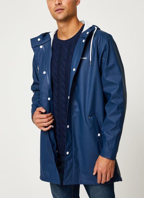Vêtements Tretorn Wings Rainjacket M C Bleu vue droite