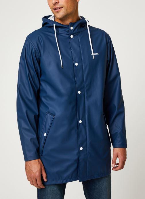 Vêtements Tretorn Wings Rainjacket M C Bleu vue détail/paire