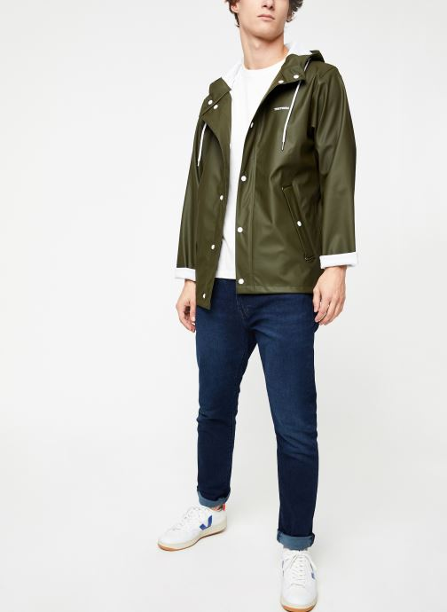 Vêtements Tretorn Wings Short Rain Jacket M C Vert vue bas / vue portée sac