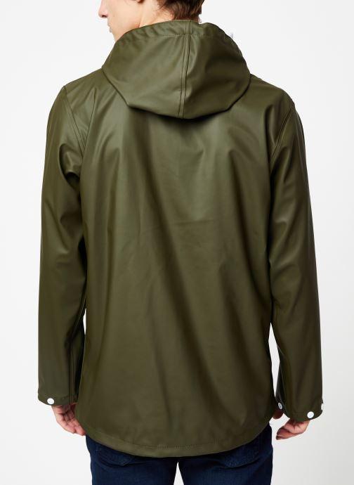 Vêtements Tretorn Wings Short Rain Jacket M C Vert vue portées chaussures