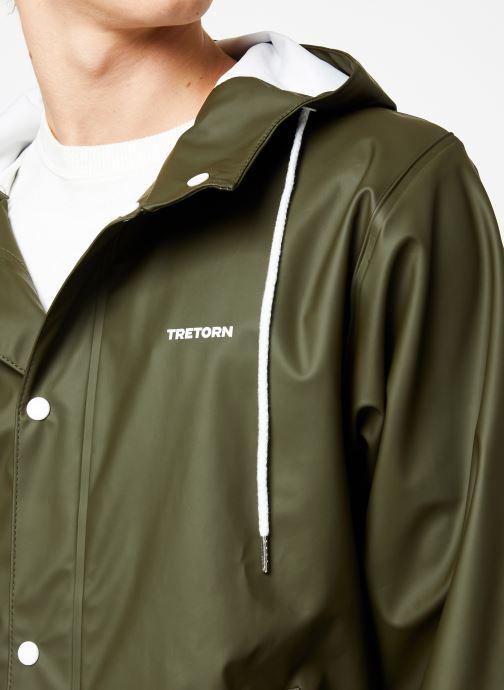 Vêtements Tretorn Wings Short Rain Jacket M C Vert vue face