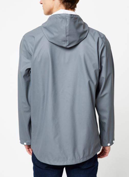 Vêtements Tretorn Wings Short Rain Jacket M C Gris vue portées chaussures
