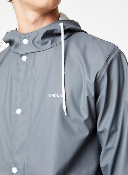 Vêtements Tretorn Wings Short Rain Jacket M C Gris vue face