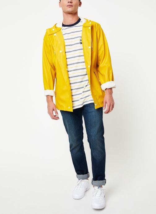 Vêtements Tretorn Wings Short Rain Jacket M C Jaune vue bas / vue portée sac