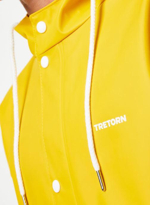 Vêtements Tretorn Wings Short Rain Jacket M C Jaune vue face