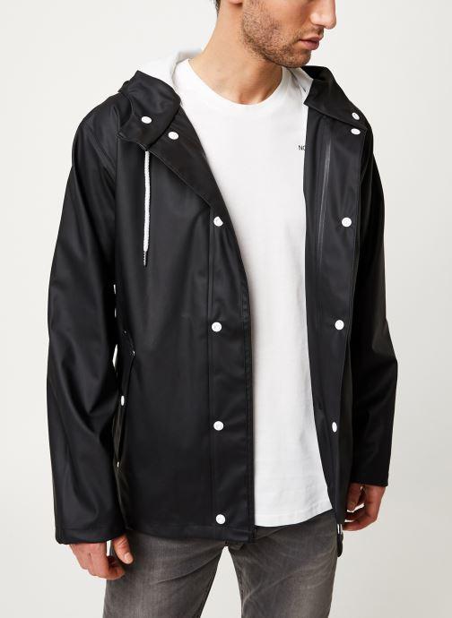 Vêtements Tretorn Wings Short Rain Jacket M C Noir vue droite