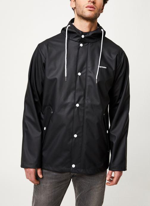 Vêtements Tretorn Wings Short Rain Jacket M C Noir vue détail/paire