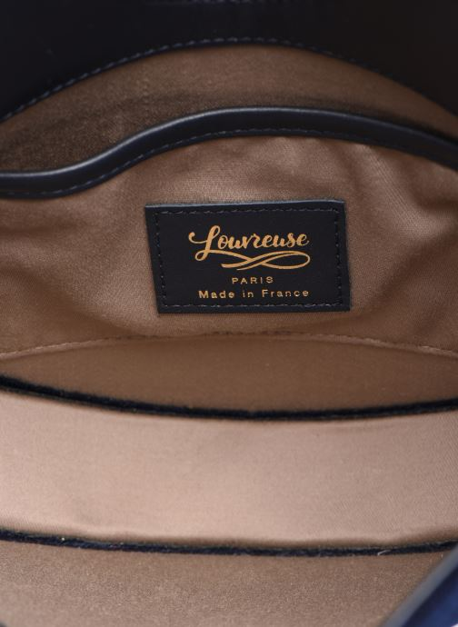 Handtaschen Louvreuse KLIMT BI MATIERE blau ansicht von hinten