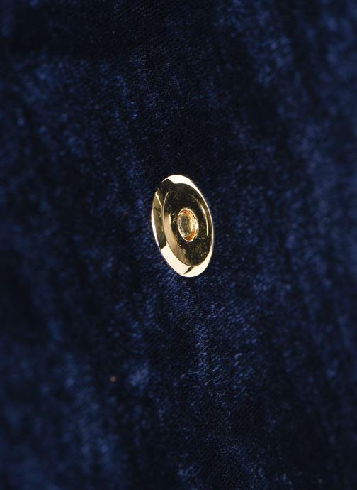 Bolsos de mano Louvreuse KLIMT BI MATIERE Azul vista lateral izquierda