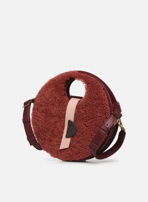 Handtaschen Louvreuse KLIMT BI MATIERE weinrot schuhe getragen