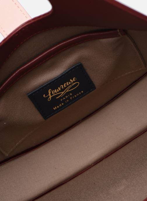 Handbags Louvreuse KLIMT BI MATIERE Burgundy back view