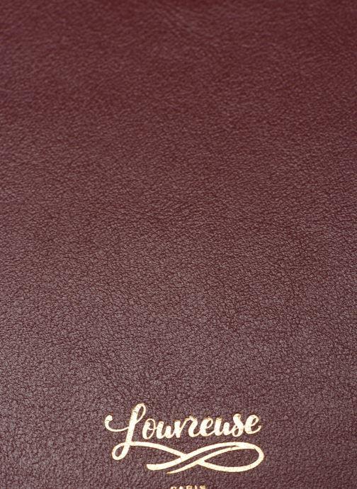 Handtaschen Louvreuse KLIMT BI MATIERE weinrot ansicht von links