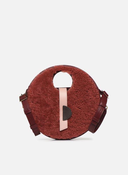Handtaschen Louvreuse KLIMT BI MATIERE weinrot detaillierte ansicht/modell
