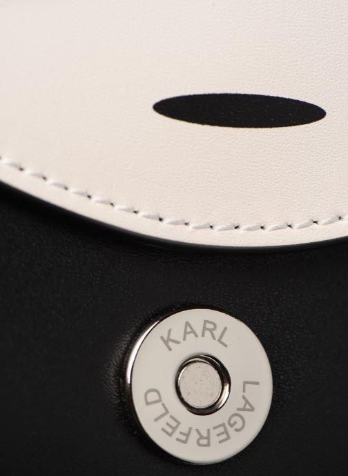 Petite Maroquinerie Karl Lagerfeld NYLON BUMBAG IKONIK Noir vue gauche