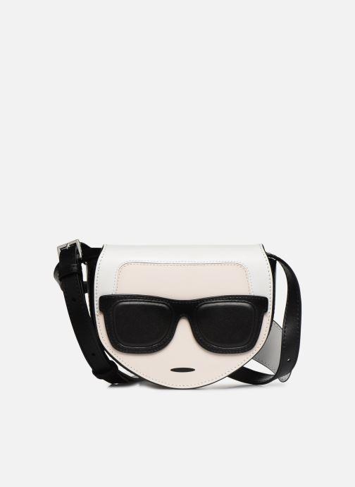 Kleine lederwaren Karl Lagerfeld NYLON BUMBAG IKONIK Zwart detail
