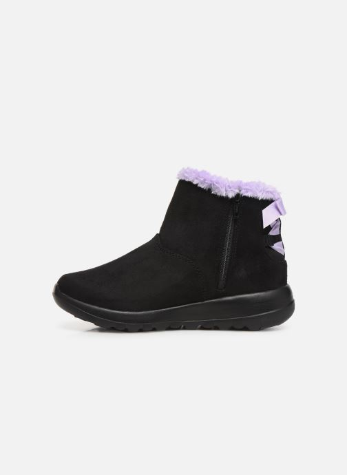 Stiefeletten & Boots Skechers Go Walk Joy /Bowrific schwarz ansicht von vorne