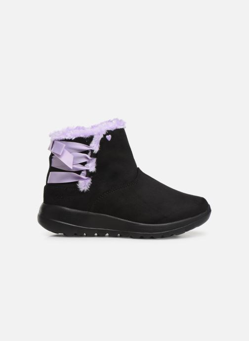 Stiefeletten & Boots Skechers Go Walk Joy /Bowrific schwarz ansicht von hinten