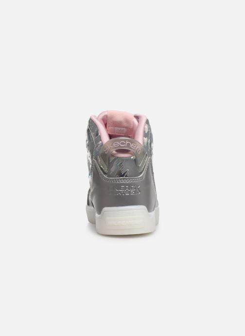 Baskets Skechers E-Pro/Reflecti-Fab Argent vue droite