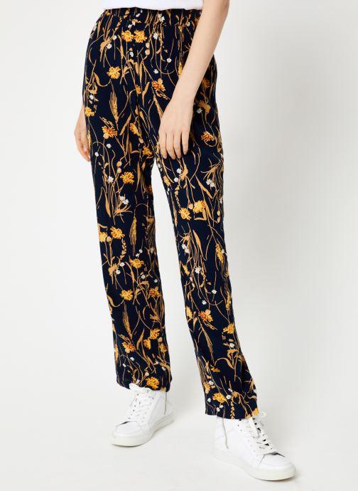 Vêtements Vila Vialeta Pants Bleu vue détail/paire