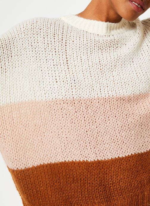 Vêtements Vila Violet Knit Beige vue face