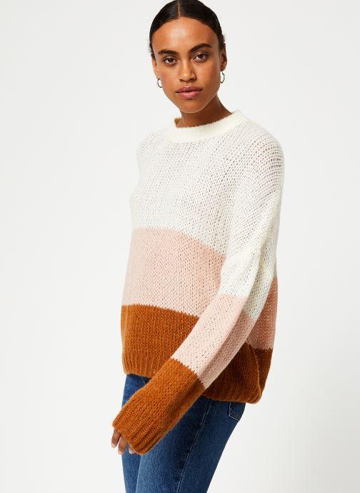 Vêtements Vila Violet Knit Beige vue droite