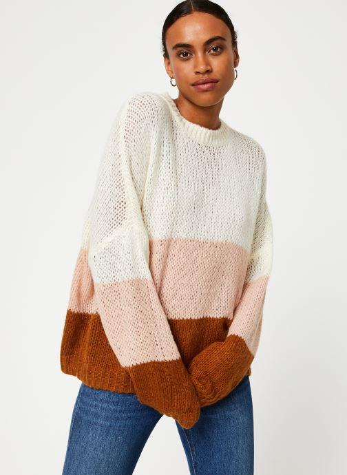 Vêtements Vila Violet Knit Beige vue détail/paire
