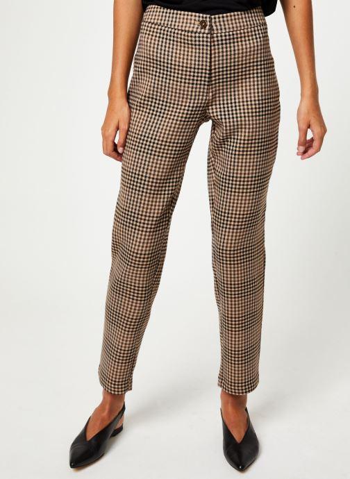 Vêtements Vila Vigesa Pants Marron vue détail/paire