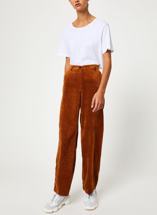 Vêtements Vila Viamara Pants Marron vue bas / vue portée sac