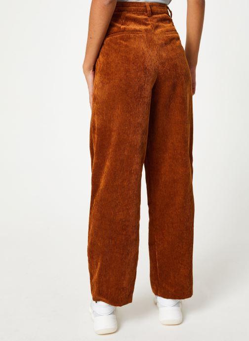 Vêtements Vila Viamara Pants Marron vue portées chaussures