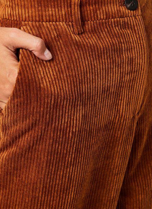 Vêtements Vila Viamara Pants Marron vue face