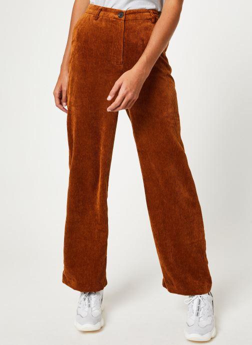 Vêtements Vila Viamara Pants Marron vue détail/paire