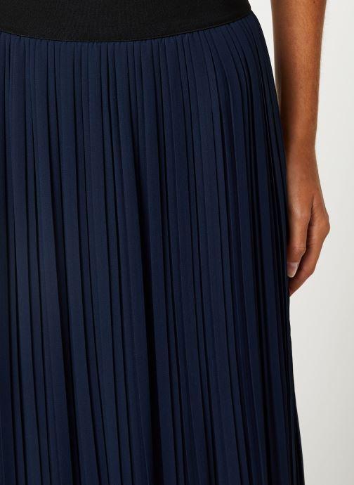 Vêtements Vila Vitysha Plisse Skirt Bleu vue face