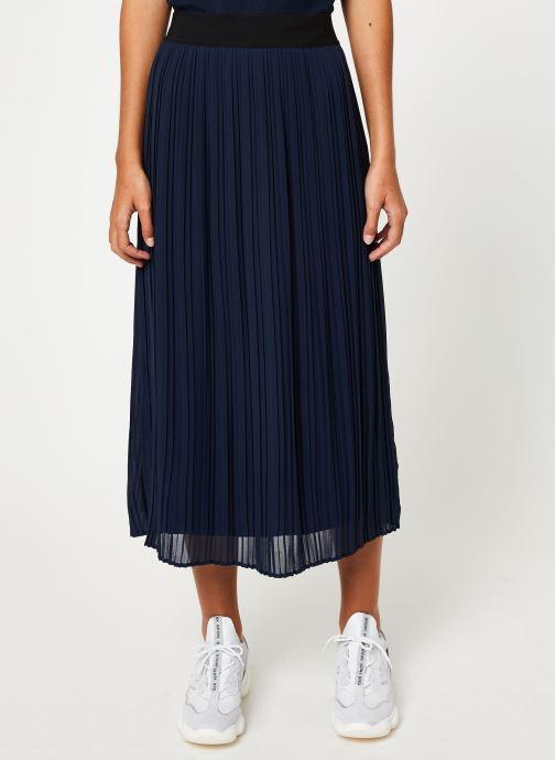 Vêtements Vila Vitysha Plisse Skirt Bleu vue détail/paire