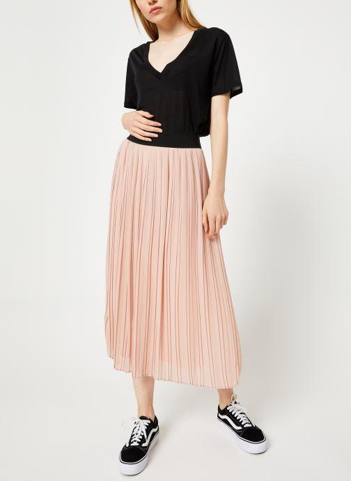 Vêtements Vila Vitysha Plisse Skirt Rose vue bas / vue portée sac