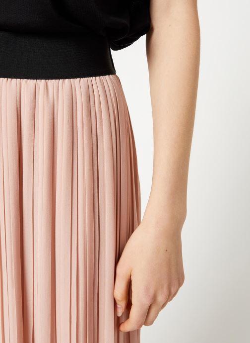 Vêtements Vila Vitysha Plisse Skirt Rose vue face