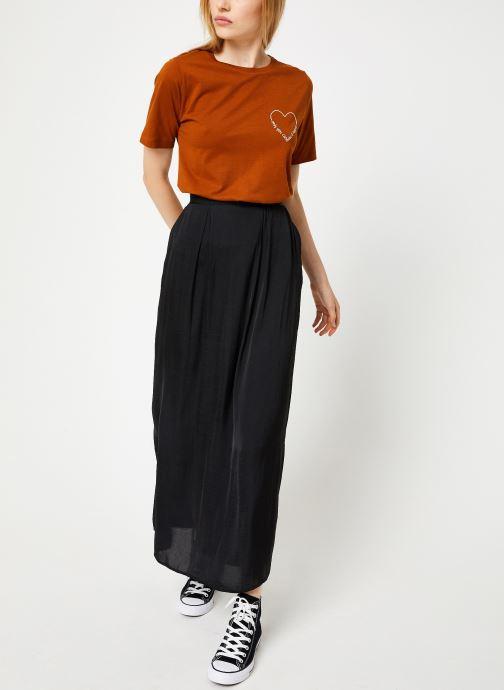 Tøj Vila Vievie T-Shirt Brun se forneden