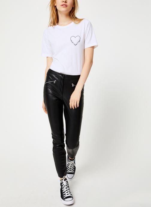 Kleding Vila Vievie T-Shirt Wit onder