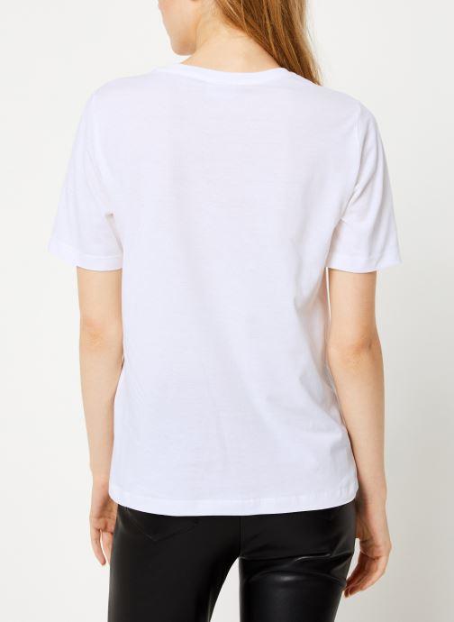 Kleding Vila Vievie T-Shirt Wit model