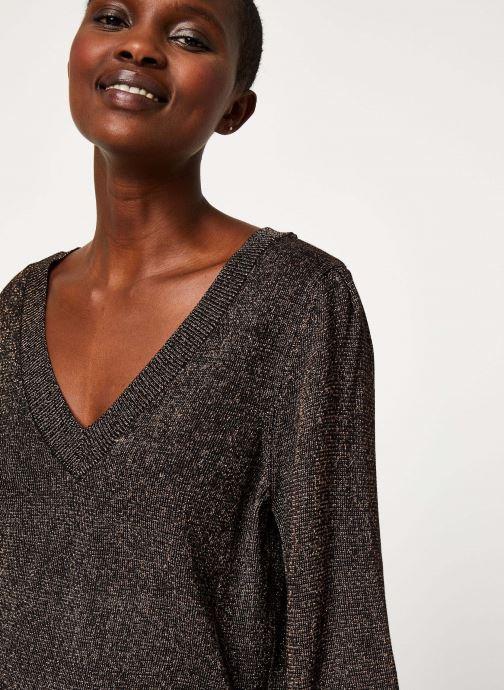 Vêtements Vila Viklano Knit Noir vue face