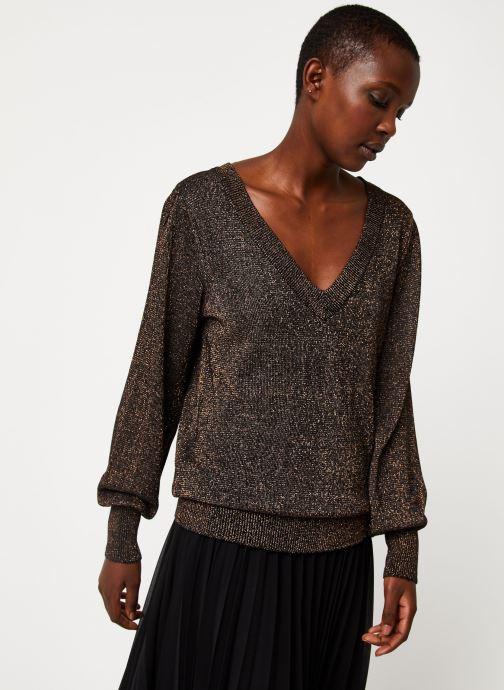 Vêtements Vila Viklano Knit Noir vue droite