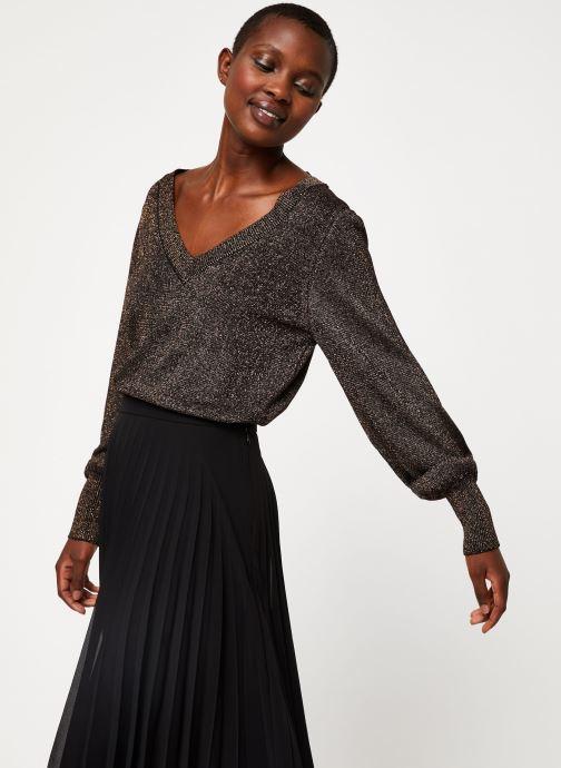 Vêtements Vila Viklano Knit Noir vue détail/paire